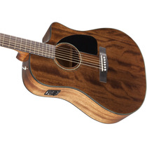 Fender Cd-60ce All Mahogany Electroacústica Fishman/estuche