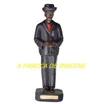 Escultura Zé Pretinho Pilintra Malandro Lapa Rj Imagem 60cm