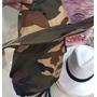 Chapéu Canavieiro Australiano Camuflado Protetor Sol Colors