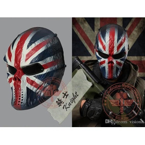 Mascara Capitan America Careta Gotcha Paintball Airsoft