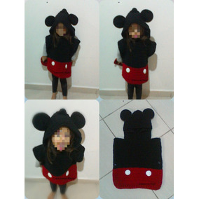 Poncho Mickey Mouse