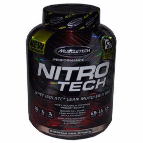 Nitrotech Whey Isolate Muscletech Galletas Con Crema 1.80 K