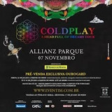 Ingresso Coldplay Sp - Pista Inteira