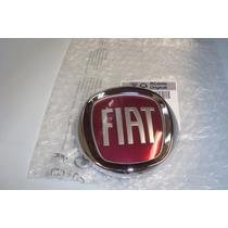 Emblema Sigla Fiat Grade Dianteira Idea - Original