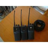 3 Radios Transmisor Portatil Motorola Ep 450 Vhf