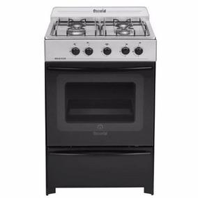 Cocina Escorial Master Inox 56 Cm Gas Natural 20-610