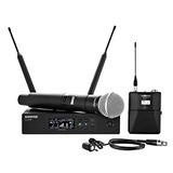 Shure Qlxd124 / 85 Sistema De Micrófono Inalámbrico Combina