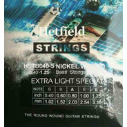 Encordado Para Bajo 5 Cuerdas Hetfield Strings Hstb040-5