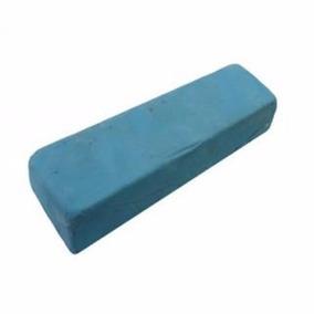 Pedra Azul Para Polir Aluminio Inox Cromado 1,100kg Aprox