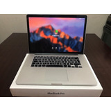Macbook Pro 15 Retina I7 16ram 2.2 Ghz 2014 Remato