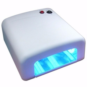 Lampara Uv Yaxun 4 Bombillos Uña Mica Tactil Celular Secador