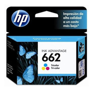 Cartucho Original De Tinta Tricolor Hp 662 Advantage (cz104a