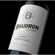 Vino Malbec Reservado - Edición Limitada - Bodega Baudron