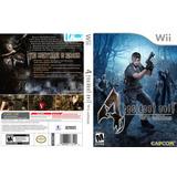 Caja Custom De Resident Evil 4 Wii