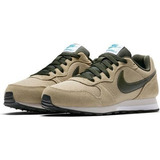 Tenis Nike Infantil Md Runner Oliva Tam 34 35 36