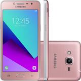 Samsung Galaxy J2 Prime Rosa 8gb 8 Mpx 4g Flash Frontal