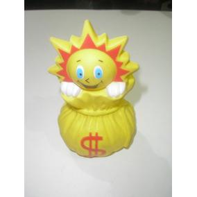 ( L - 190 ) Boneco Promocional Ri Happy Solzinho - Cofre