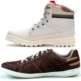Kit 2 Pares Boot Masculino + Sapatenis Casual Blackfriday. 2 cores. R  119  45 73d680fb1c