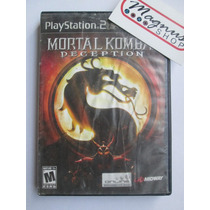 Mortal Kombat Deception Para Playstation 2 Ps2 Mk Peleas