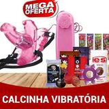 Kit Sex Chop 25u Calcinha Com Vibrador Vibro Revenda