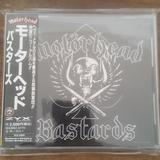 Motorhead Bastards Cd Japon Como Nuevo Obi Japones Unico!
