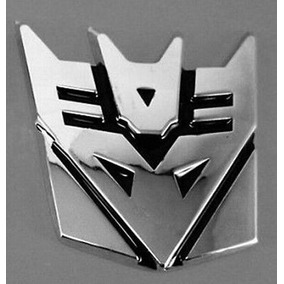 Decepticon Transformers Sticker 3d