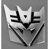 Transformers Decepticons Calcomania 3d 10 Piezas
