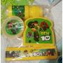 Envases Escolar 4x1 De Ben 10,avengers,doki,minions, Mickey