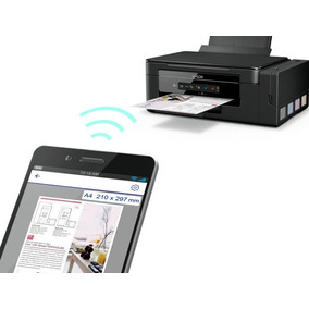 Epson Multifuncional L395 Com Bulk De Fábrica Wifi