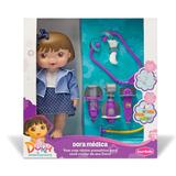 Boneca Dora A Aventureira - Médica - Bambola Brinquedos