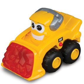 Veículo Com Luzes E Sons - Glow Machine - Cat Escavadeira -