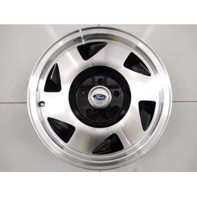 Jogo Roda Aro 15 Ranger Ford 5x114.3 Com Calotas