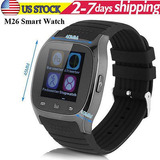 M26 Elegante Reloj Teléfono Bluetooth Mate Para Ios Android