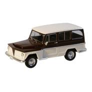 Miniatura Rural Willys 1968 Escala 1/43