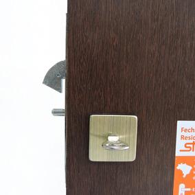 Fechadura Stam 950 Porta Madeira De Correr Banheiro Quadrada