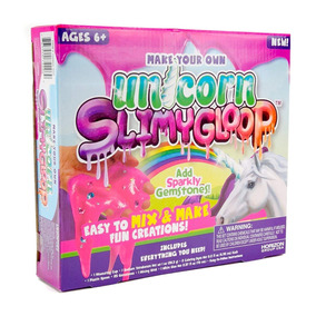 Kit De Slime De Unicornio Juguete Para Niñas 2018 (importad)