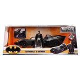 Auto De Colección Metal Batimovil Batman C/figura Original