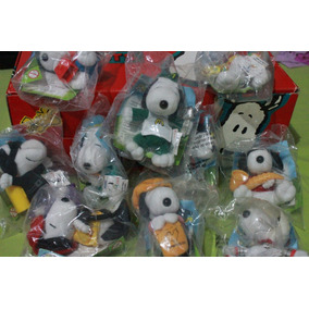 Snoopy Y Sus Sueños Coleccion De Peluches Mc Donald 10 Unida