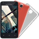 Smartphone Multilaser Ms45s Preto Dual 8gb 4.5