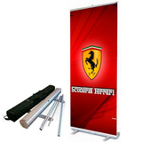 Portabanner Rollup 85x200cm Porta Banner Roll Up Premium