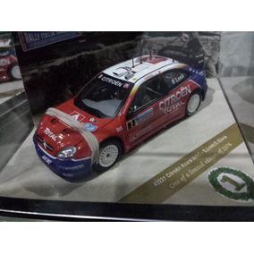Rally Italia 2005. Citroen Xsara Wrc. Trae A Los Conductores