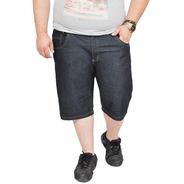 Bermuda Masculina Jeans Com Lycra Plus Size Tamanho Grande D
