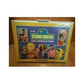 Sesame English Curso Infantil 3 Libros 6 Dvd-videos 4 Cd-rom