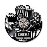 Shinestore Cine En Casa Discos De Vinilo Reloj De La Películ