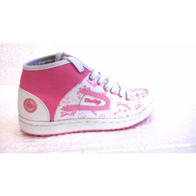 Zapatillas Botitas Urbanas Dunlop Perfection Hi Lace Mujer