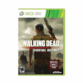 The Walking Dead Survival Instinct Xbox 360 + Pôster Brinde