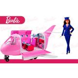 Jet De Lujo Barbie Avión Glamour Vacaciones Fnf09 Niñas