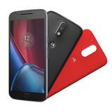 Smartphone Motorola Moto G4 Plus Xt1640 Preto Com 32gb