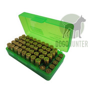 Caja Porta Municiones Mtm P-50 9 Mm Dogo Hunter