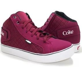 Tênis Coca Cola Feminino Caminhada Academia Melhor Preço